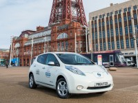 Nissan Leaf Taxis come to Blackpool