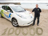 Wizzy the 100,000 mile electric taxi
