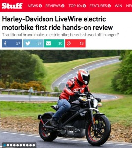 Stuff Test Electric Harley Davidson